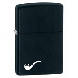 218PL Black Matte Pipe Lighter - tulemasin piibule