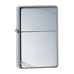 Zippo 260 Vintage High Polish Chrome w/slashes tulemasin