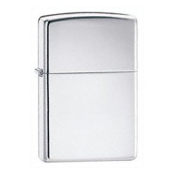 Zippo 250 High Polish Chrome tulemasin