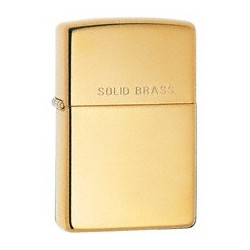 Zippo 254 Engraved Solid Brass tulemasin