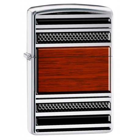 Zippo 28676 Pipe Steel And Wood