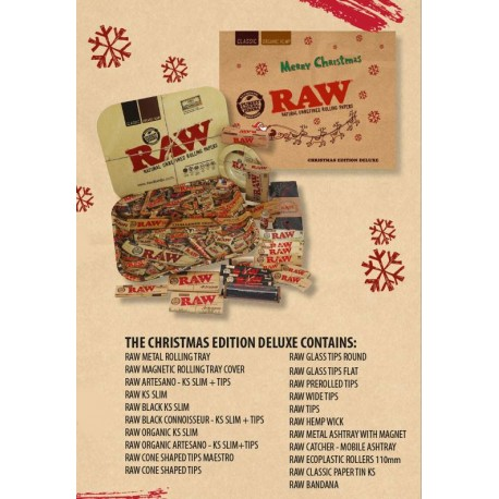 RAW papers set Christmas Edition